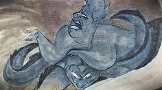 Ursula in a rare storyboard.