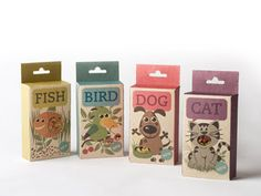 By Sara Strand. Fish, Bird, Dog & Cat is a line of animal food/candy. Organic food/candy which comes in a packaging with little windows. So you can easily see what product you're buying for your pet. Cool Packaging, Food Packaging Design, Packaging Design Inspiration, Product Packaging, Drug Packaging, Candy Packaging, Packaging Ideas, Food Branding, Cat Design