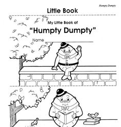 Humpty Dumpty Literacy and Math Centers, Activities and
