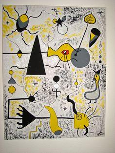 Inspiration, Juan Miro.