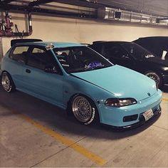 Honda Civic 1995, Honda Civic Vtec, Civic Jdm, Honda Crx, Tuner Cars, Jdm Cars, Honda Civic Hatchback, Hatchbacks, Japanese Cars