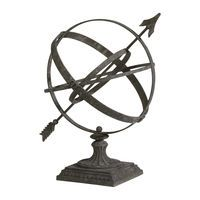 Large Weathered Armillary