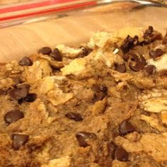 paula dean's chocolate bread pudding