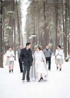 Randi & Ken's Winter Wedding in Cypress Hills - Sneak Peak