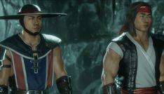 Liu Kang ( Right ) Kung Lao ( Left ) Mortal Kombat, Kung Lao, Liu Kang, Laos, Captain Hat, Studios, Fictional Characters, Music