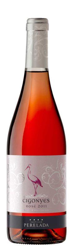 Cigonyes Rosé es el nuevo rosado de Castillo Perelada para este verano. Otro vino dedicado a la colonia de cigüeñas que anida en los jardines del castillo.