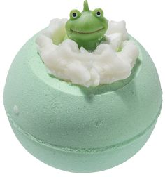 (It's Not Easy Being Green) - Pour une expérience de bain ultime, cette boule de bain effervescente créera une sensation pétillante tout en relachant les huiles essentielles dans...