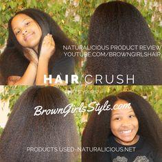 Natural|Hair |Protective Styles |kids |women|Black Hair |brown girls hair |naturalicious product| review