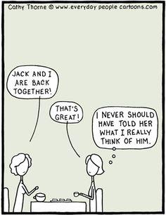 Back Together Cartoon