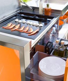 Movable Tiny Kitchen Set by OutCook