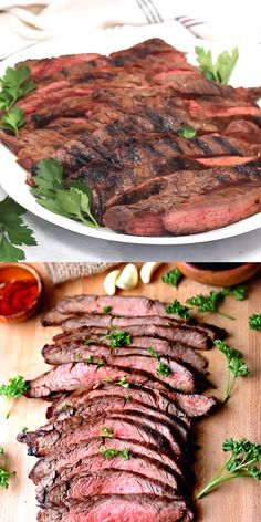 This delicious Marinated Flank Steak lasts nano seconds at our house when it comes off the grill. Don't miss out on this incredible dinner. day dinner for two steak Marinated Flank Steak Flank Steak Tacos, Marinated Flank Steak, Beef Steak, Grilled Flank Steak Recipe, Flank Steak Marinades, Grilling Flank Steak, Crockpot Flank Steak Recipes, Stuffed Flank Steak, Meat Recipes
