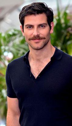 All about the stache Mustache Styles, Beard No Mustache, Walrus Mustache, Beautiful Men Faces, Gorgeous Men, Hollywood Men, Moustaches, Bear Men, Hair And Beard Styles