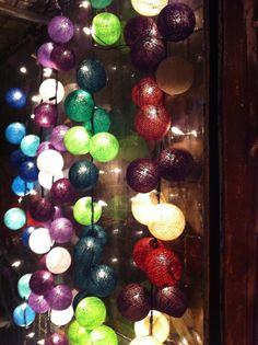 Colorful Outdoor String Lights