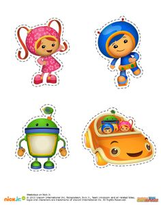 5 pages--Scavenger hunt--- http://www.nickelodeonparents.com/umizoomi-scavenger-hunt/