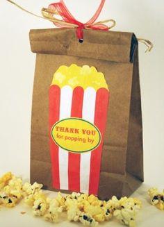 Popcorn Carnival Treat Bag
