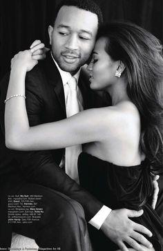 Chrissy & John Legend! Love this shot