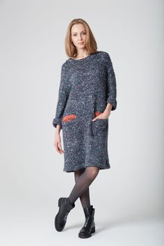 ФБ Gemini Dress — Rodina Yarns