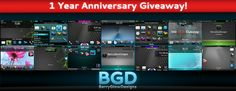 BerryGlowDesigns free blackberry theme giveaway. I love free themes!!!
