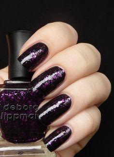 Deborah Lippmann's Bad Romance nail polish.  Isn't it divine??