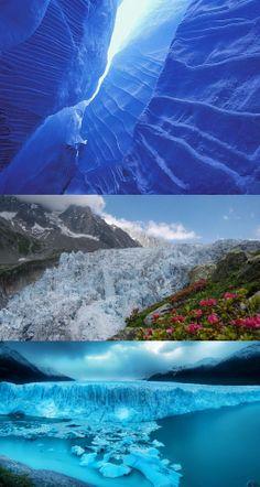gorgeous azure glacier