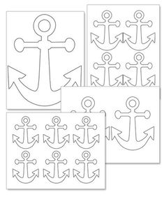 Printable Anchor Template - Printable Treats