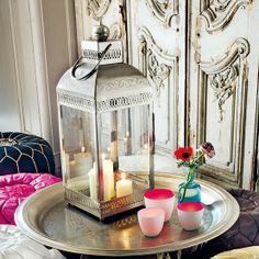 Moroccan. - Click image to find more Home Decor Pinterest pins