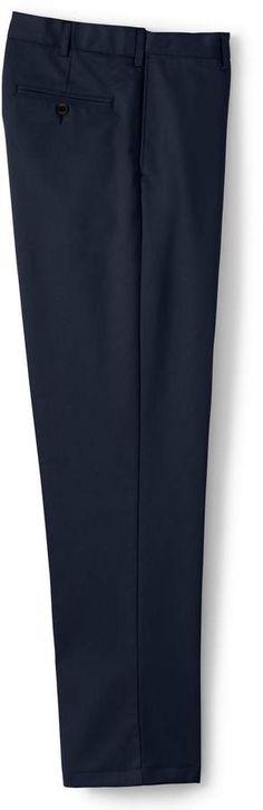 Lands'end Men's Big & Tall Plain Front Comfort Waist No Iron Chino Pants Mens Big And Tall, Big & Tall, Tall Pants, Lands End, Thighs, Iron, Legs, Cotton, Shopping