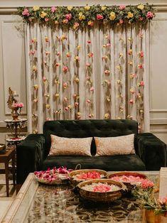 Desi Wedding Decor, Luxury Wedding Decor, Engagement Decorations, Outdoor Wedding Decorations, Backdrop Decorations, Ceremony Decorations, Flower Decorations, Backdrops, Mehendi Decor Ideas