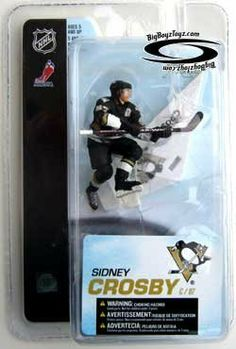 "McFarlane Toys NHL Sports Picks 3 Inch Mini Figure Series 4 Sidney Crosby (Pittsburgh Penguins) by McFarlane Toys. $9.99. McFarlane Toys NHL 3"" Sports Picks Series 4 Mini Figure Sidney Crosby Pittsburgh Penguins"