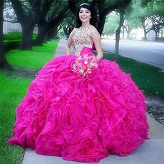 Cocosbride has a great collection of cheap Floor-lengthBall GownQuinceanera dresses at an affordable price. Welcome to buy high quality Ball GownQuinceanera dresses from us Xv Dresses, Custom Dresses, Cheap Dresses, Girls Dresses, Prom Dresses, Formal Dresses, Tulle Balls, Tulle Ball Gown, Ball Gowns