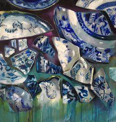 Cocci blu Artist Daniela Balsamo