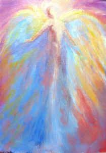 acrylic+paintings+of+angels | ... store and Etsy store for the most current available healing paintings