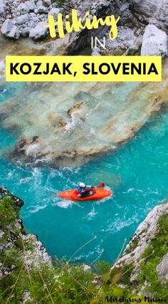 Kozjak waterfall, or Slap Kozjak as they say in Slovene (slap means waterfall), is a 45 minutes hike from the town center of Kobarid. The hike has beautiful scenery of turquoise rivers, vast green nature, a hanging bridge and a historical bridge. Here's an introduction to hiking in Kozjak, Slovenia. Get all the tips and tricks here.