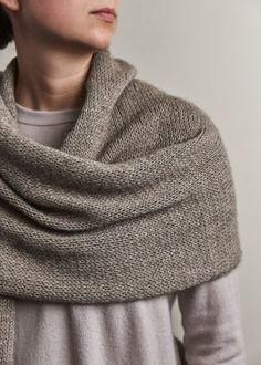 Elementary Wrap   Free Knitting Pattern by Purl Soho