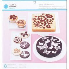 Martha-Stewart-491838-Weinlese-Maedchen-Kuchen-Und-Cupcake-Schablonen-8-Pkg 28 euro denn aus ausland