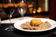 Manuel's Vintage Room is one of the most romantic restaurants in Gainesville