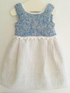Kleid,reines+Leinen+von+Evas+Masche+auf+DaWanda.com