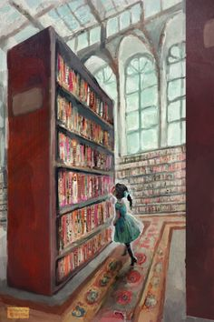 http://sosuperawesome.com/post/147829064911/exploring-the-library-by-madeleine-wynne-on