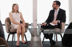 Actress Jodie Foster and Ramin Setoodeh attend Kering Talks Women in Motion at the 69th Cannes Film Festival on May 12, 2016 in Cannes, .