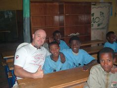 Ross Kemp visits GOAL in Ethiopia.