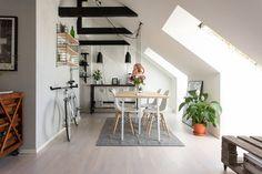 alex white, http://trendesso.blogspot.sk/2015/05/cute-attic-scandinavian-apartment.html