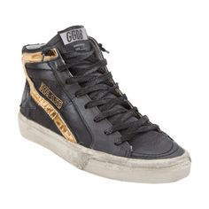 Golden Goose Slide High-Top Sneakers at Barneys.com