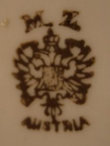 M.Z. Austria Mark/ I have a dish with this mark.