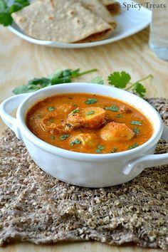Spicy Treats: Dum Aloo / Baby Potato Curry