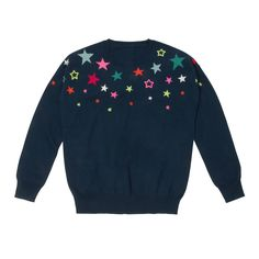 New Fashion | Scattered Stars Intarsia Jumper | CathKidston
