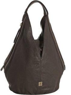 Givenchy Handbag/ Dark Brown/ Double Zipper