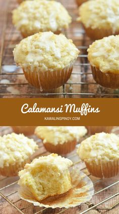 Moist, tender and with a tangy citrus glaze, these bakery-style Calamansi muffins are perfect for breakfast or brunch but are as delicious as an on-the-go snack.