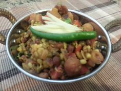 Sprouts with Moongvadi