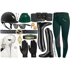 Hunter Green and Gold