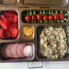 Last lunch of the week! My daughter's @planetbox lunch for Friday is #traderjoes mushroom risotto, radishes, watermelon, peas, grape tomatoes, and ginger lemon gummies. #lunch #bento #bentobox #organic #organicfood #healthy #healthyfood #healthykids #healthyeating #Healthyfamily #instafood #instagood #schoollunch #eattherainbow #cleaneats #cleaneating #healthychoices #picoftheday #foodpic #foodie #eeeeeats #feedfeed #yum #healthymeals #parentlife #momlife #planetbox #rockthelunchbox…